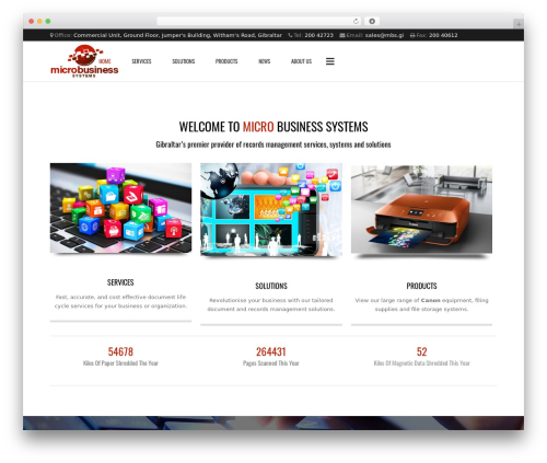 Best WordPress theme Subway - mbs.gi
