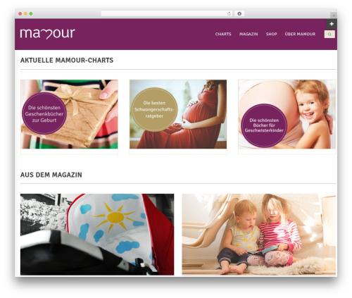 Blaszok WordPress template - mamour.de