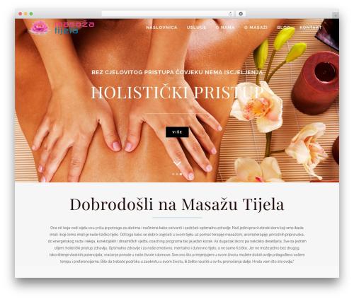 Bridge WordPress template - masazatijela.com