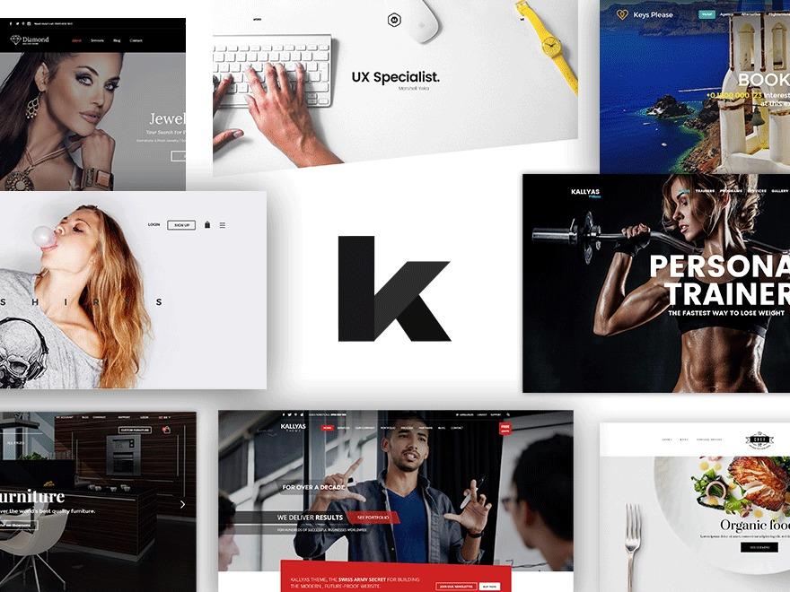 Kallyas best WordPress template