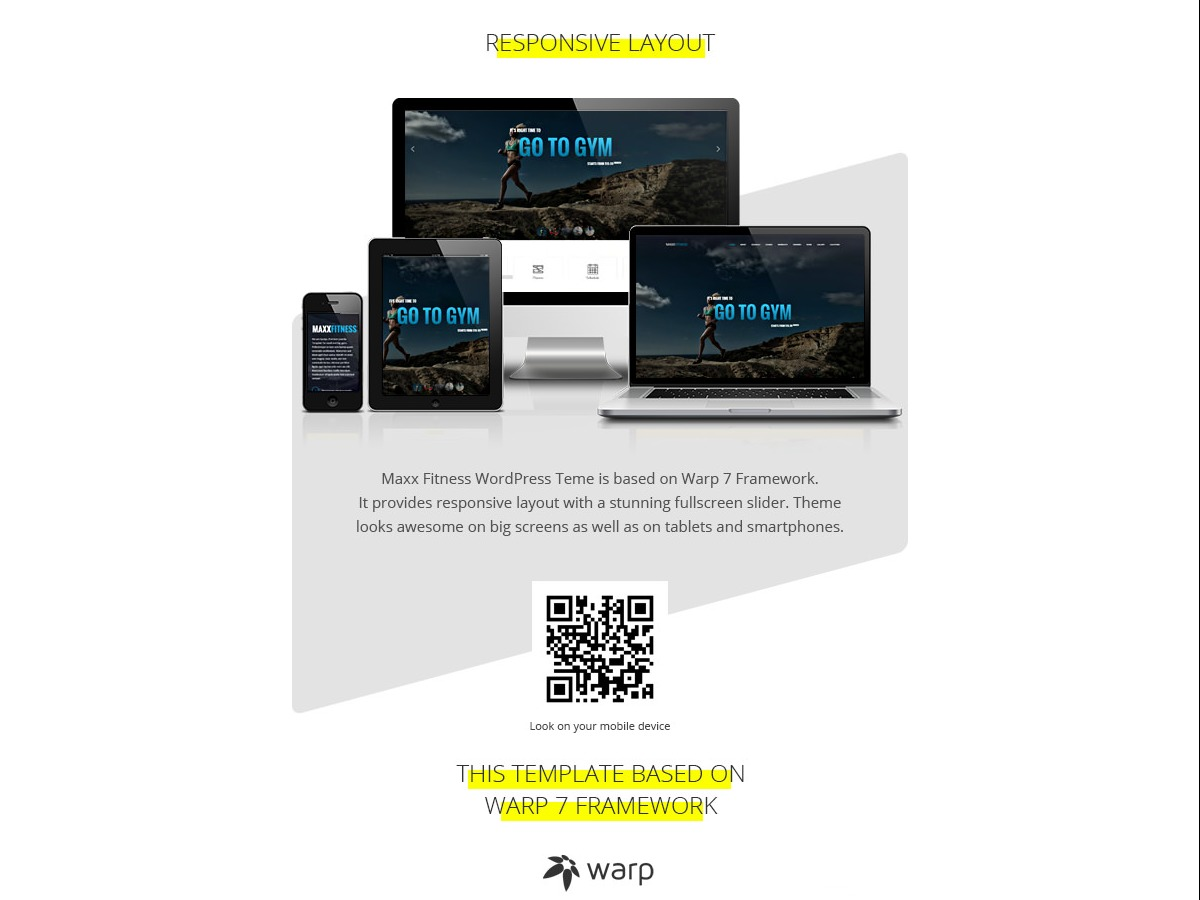 Maxx Fitness business WordPress theme