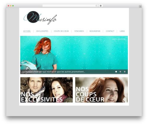 WordPress wonderplugin-audio plugin - musinfo.com