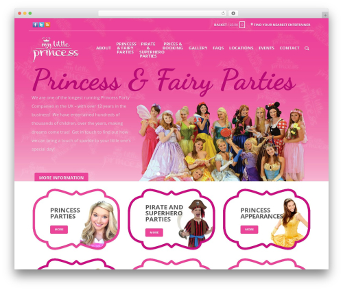 Free WordPress WP Store Locator plugin - mylittleprincessparties.co.uk