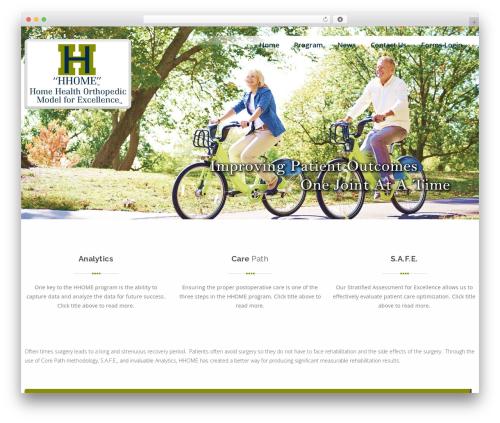 Swiftbiz Lite WordPress theme - myhhome.com