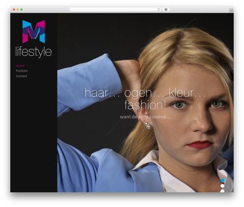 Trail theme WordPress - mmlifestyle.nl
