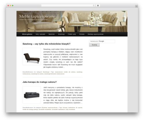 Twenty Eleven free website theme - mebleopole.pl