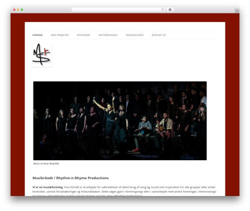 Free WordPress Bellows Accordion Menu plugin - musikrgodt.dk