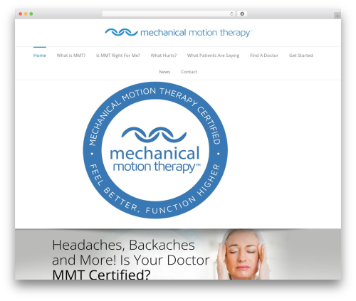 Free WordPress Easy Video Player plugin - mechanicalmotiontherapy.com