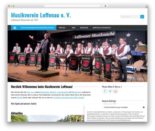 Free WordPress Page Visit Counter plugin - musikverein-loffenau.de