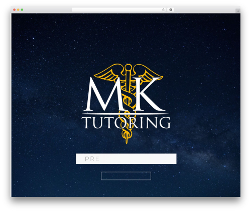 Best WordPress template Betheme - mk-tutoring.fi