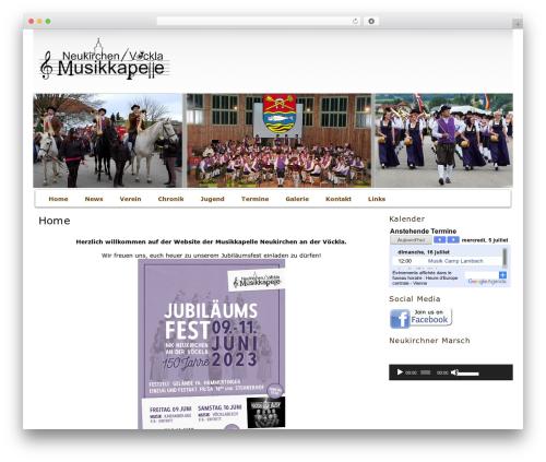 Best WordPress template raindrops - mk-neukirchen-voeckla.at