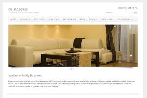 Cleaner WordPress Theme business WordPress theme