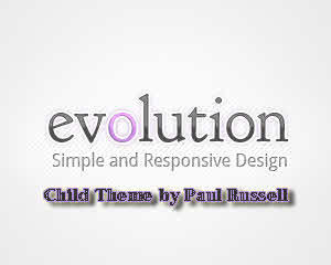 Evolution-child WordPress theme