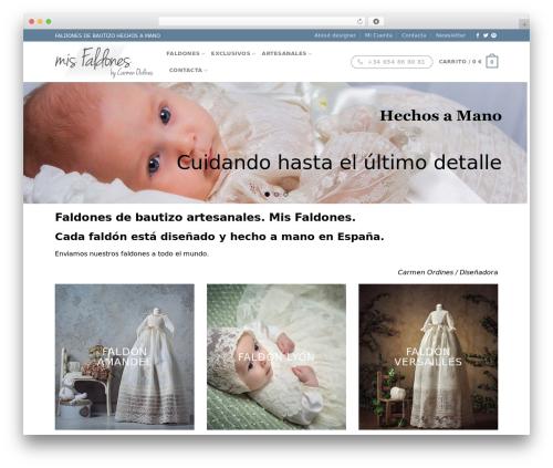 Flatsome WordPress theme - misfaldones.com
