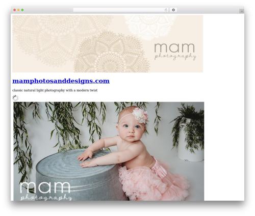 WordPress my-pinterest-badge plugin - mamphotosanddesigns.com