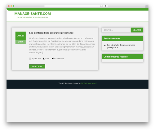 The WP Business WordPress free download - manage-sante.com