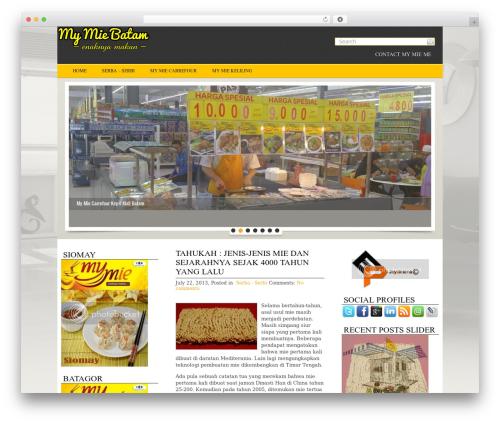 Theme WordPress MetroPress - mymie.me
