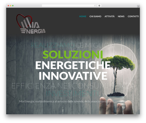 cherry WordPress theme - miaenergia.net
