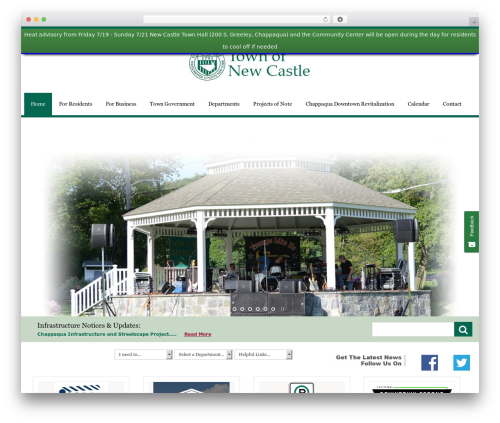 City Government business WordPress theme - mynewcastle.org/?option=com_content&view=category&layout=blog&id=152&Itemid=164