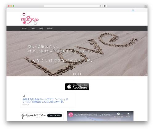 Free WordPress ARVE Advanced Responsive Video Embedder (YouTube, Vimeo, HTML5 Video …) plugin - m2y.jp