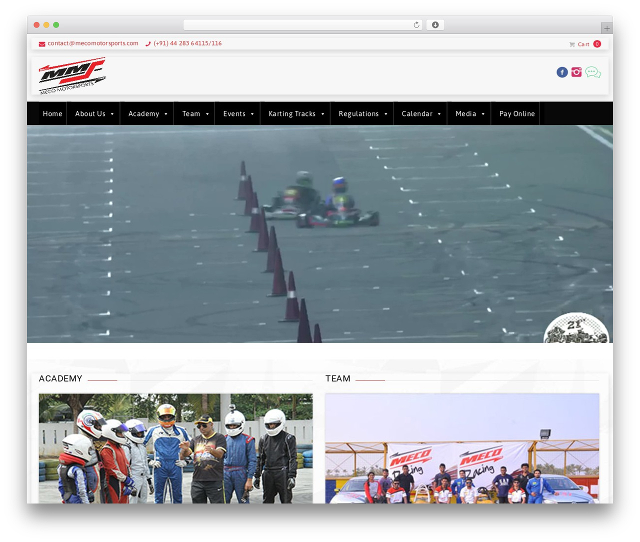 GoalKlub WordPress theme - mecomotorsports.co.in