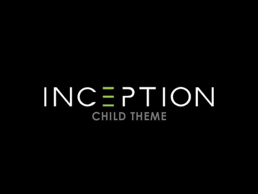 Inception Websites Child Theme WordPress page template