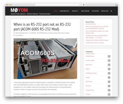 Free WordPress Meks Smart Social Widget plugin - m0yom.co.uk