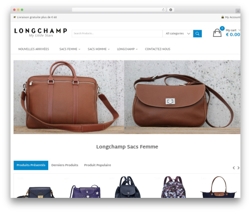 Clickbuy template WordPress - mylittlestars.fr