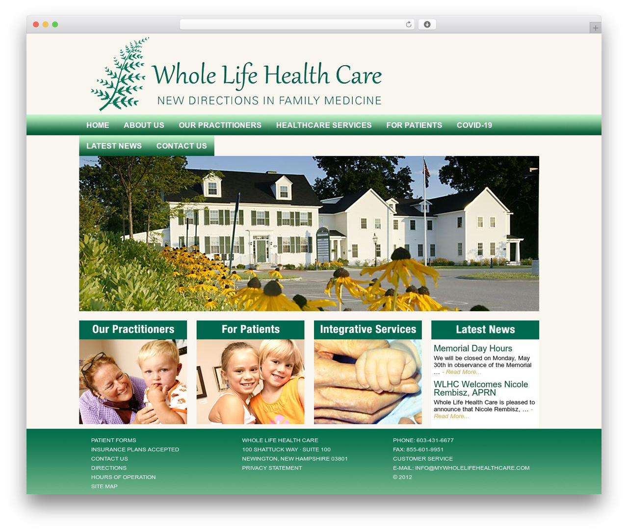 Executive Child Theme theme WordPress - mywholelifehealthcare.com