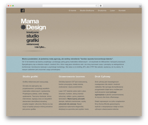 Gantry Theme for WordPress WordPress theme - mamadesign.pl
