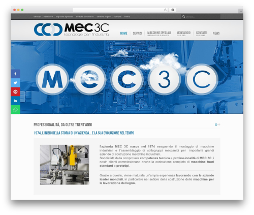Inspire theme WordPress - mec3c.it
