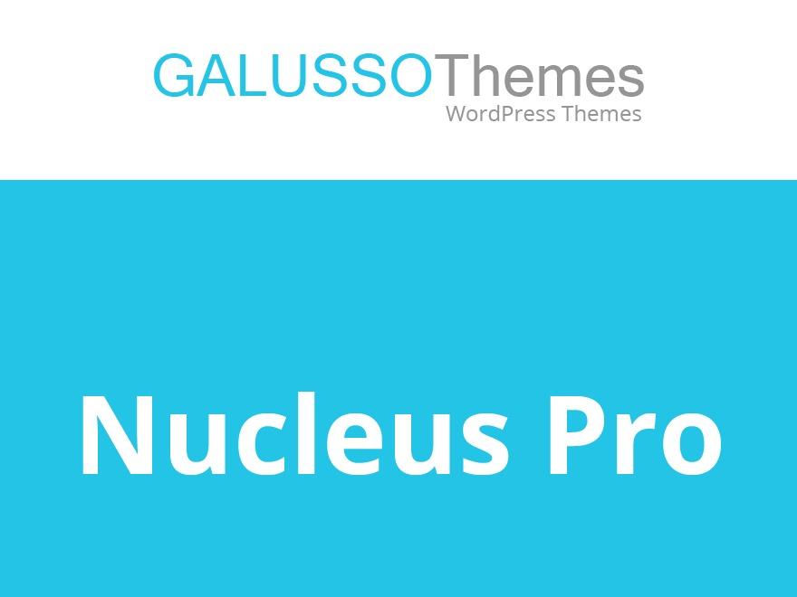 Nucleus Pro WordPress blog template