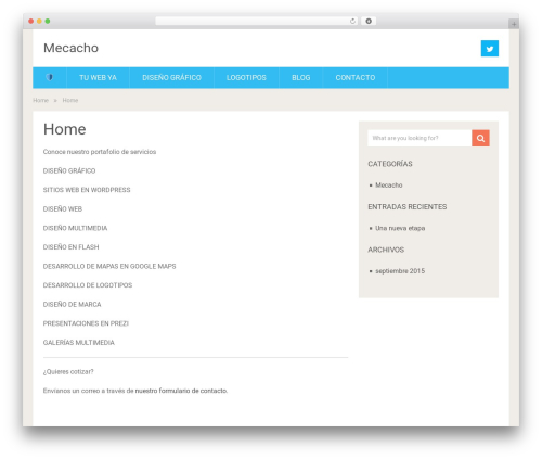 SociallyViral template WordPress free - mecacho.com