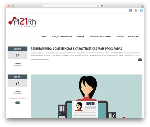 Solitudo top WordPress theme - m21rh.pt