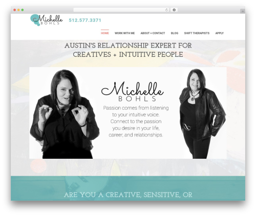 Swatch WordPress page template - michellebohls.com