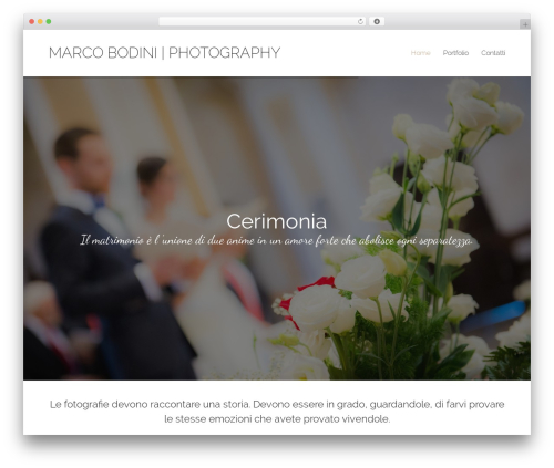 Free WordPress PixProof plugin - marcobodini.it