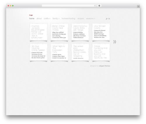 WordPress template DailyNotes - momentsofgratitude.com
