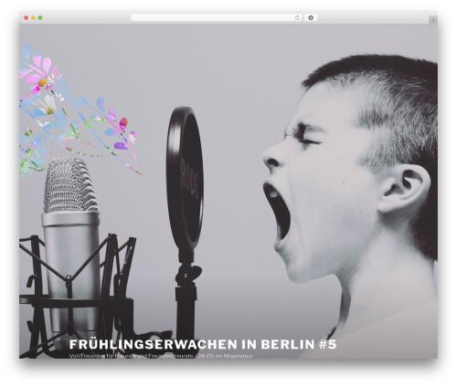WordPress theme Twenty Seventeen - fruehlingserwachen-in-berlin.de