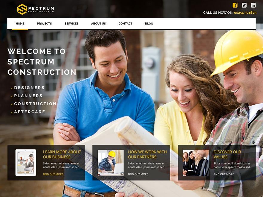 WP Spectrum WordPress news template