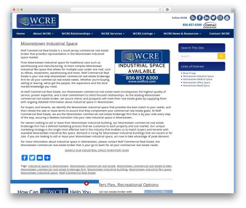 WP theme VLM - moorestownindustrialspace.com