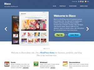 Bizco best WordPress template