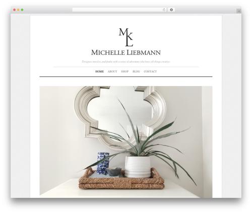 Elemin theme WordPress - michelleliebmann.com