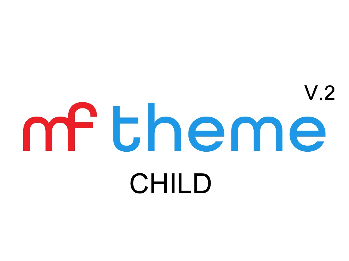 MF Child template WordPress