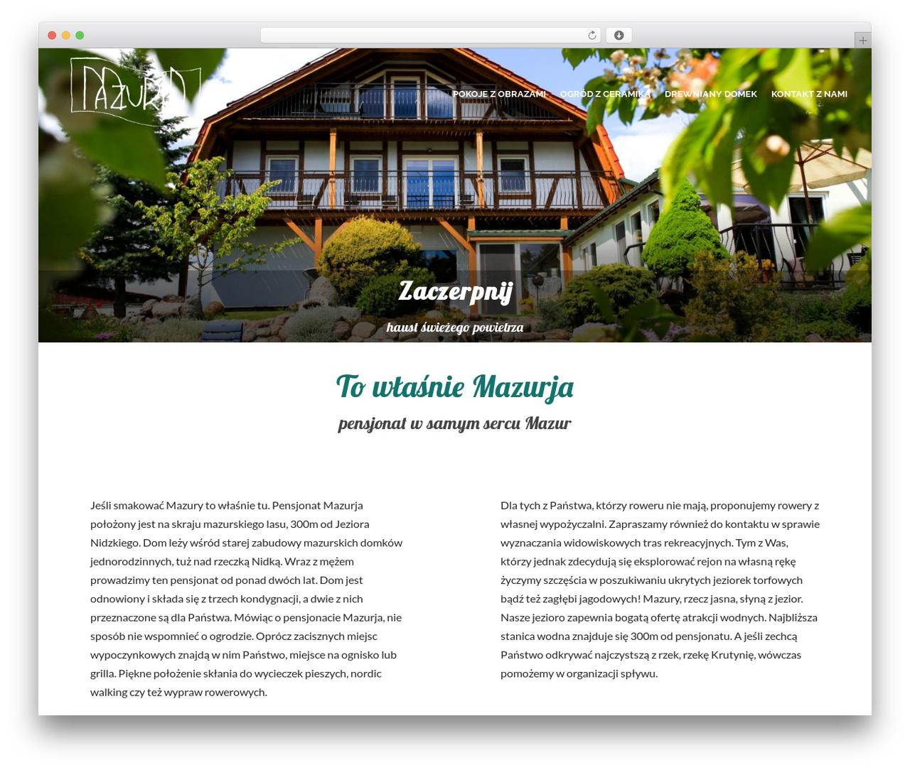 Pinnacle WordPress theme download - mazurja.pl