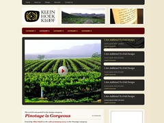 Pinotage business WordPress theme