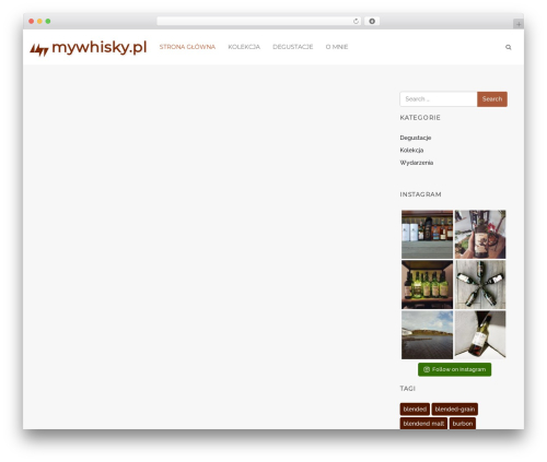 Spark WordPress template free download - mywhisky.pl