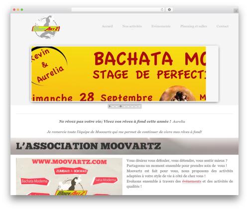 Theme WordPress Kaleidoscope - moovartz.com