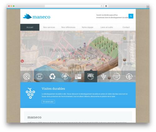Unity WordPress theme - maneco.ch