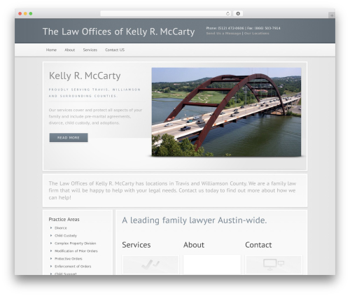 WordPress theme Modular - mccartylaw.net