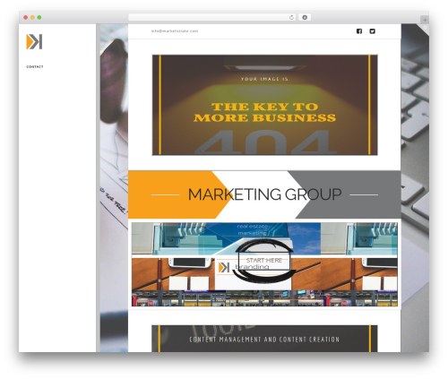 WordPress x-email-mailchimp plugin - marketstrate.com